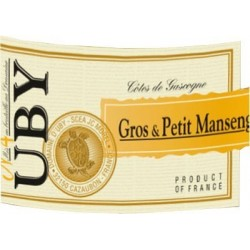 Uby N ° 4 COTES OF GASCOGNE Gros and Petit Manseng White Wine VDP 75 cl