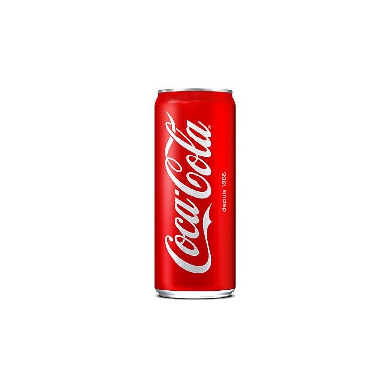 COCA-COLA caja de metal 33 cl