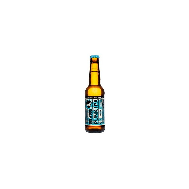 Beer BREWDOG PUNK IPA Blond Scotland / Ellon 5.6 ° 33 cl
