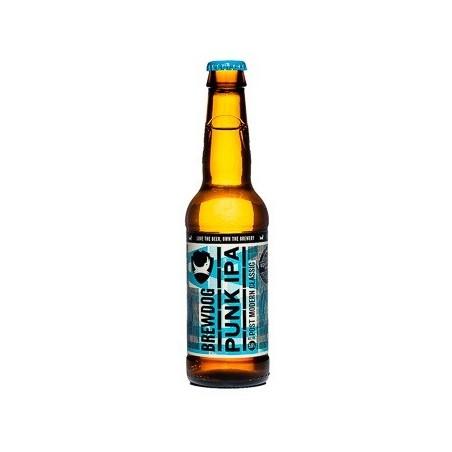 BrewDog Punk IPA cerveza rubia Escocia / Ellon 5,6 ° 33 cl
