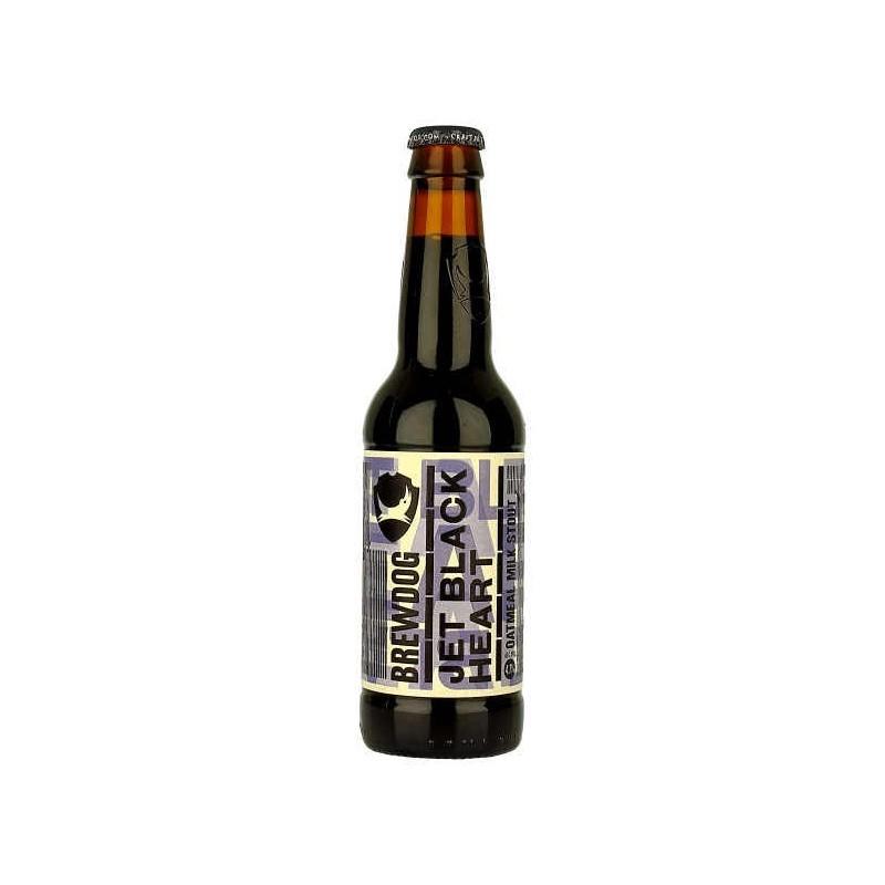 Cerveza CORAZÓN Brewdog JET NEGRO Negro Escocia / Ellon 4,7 ° 33 cl