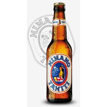 Beer HINANO Blond Tahiti 5 ° 33 cl