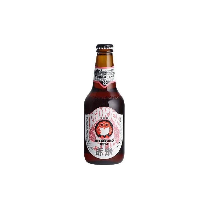 Birra HITACHINO NEST ROSSO Riso Ambra Giappone 7 ° 33 cl