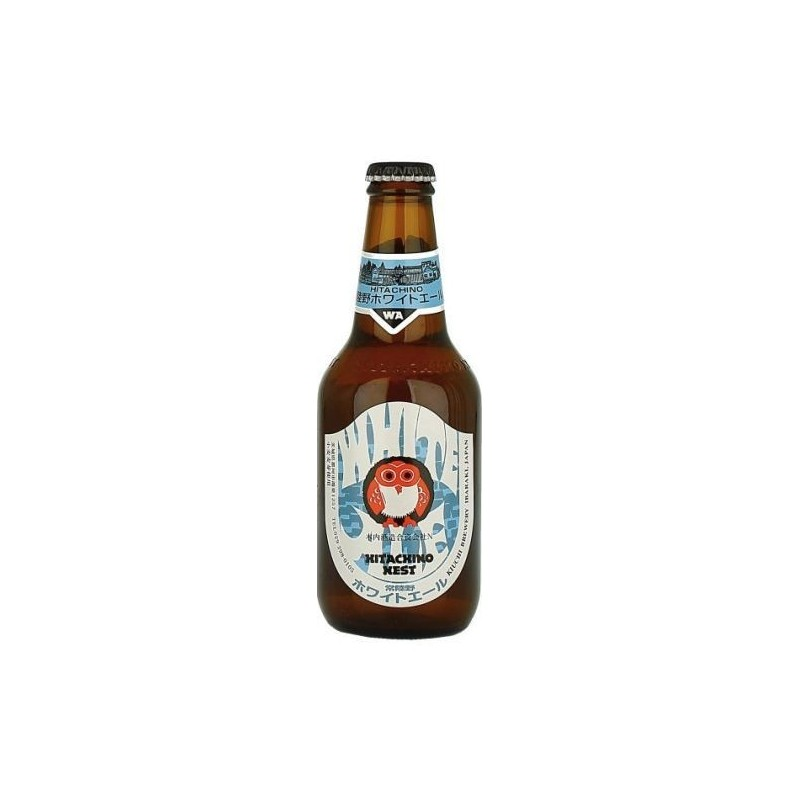 Beer HITACHINO NEST WHITE ALE White Japan 5.5 ° 33 cl