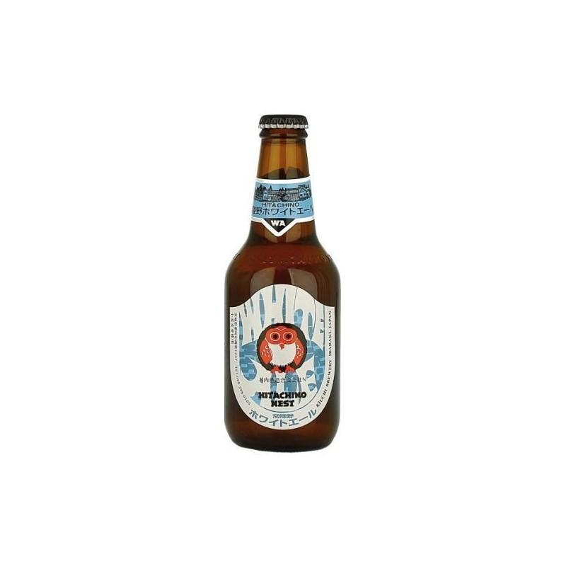 Birra HITACHINO NEST WHITE ALE Bianco Giappone 5.5 ° 33 cl