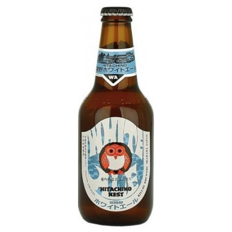 Cerveza HITACHINO NEST WHITE ALE Blanco Japón 5,5 ° 33 cl