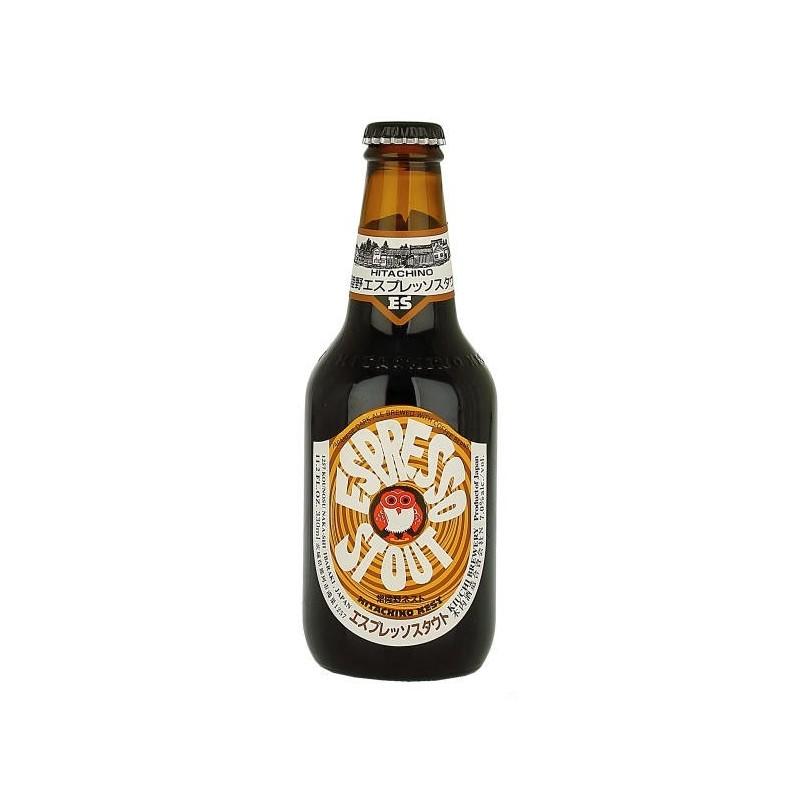 Cerveza HITACHINO NEST ESPRESSO STOUT Negro Japón 7 ° 33 cl