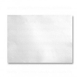 Set aus weißem Papier Tablette geprägt 30x40 cm - die 1000