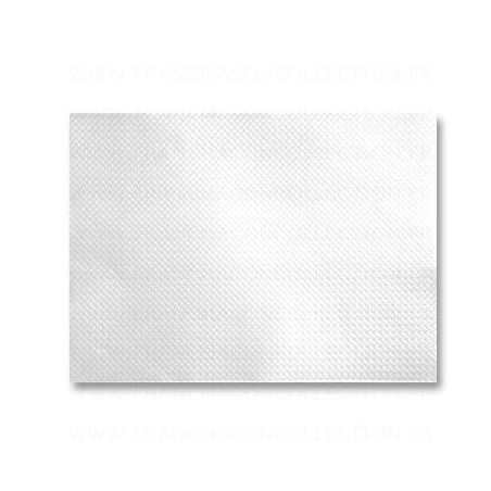 Set of white paper tablet embossed 30x40 cm - the 1000