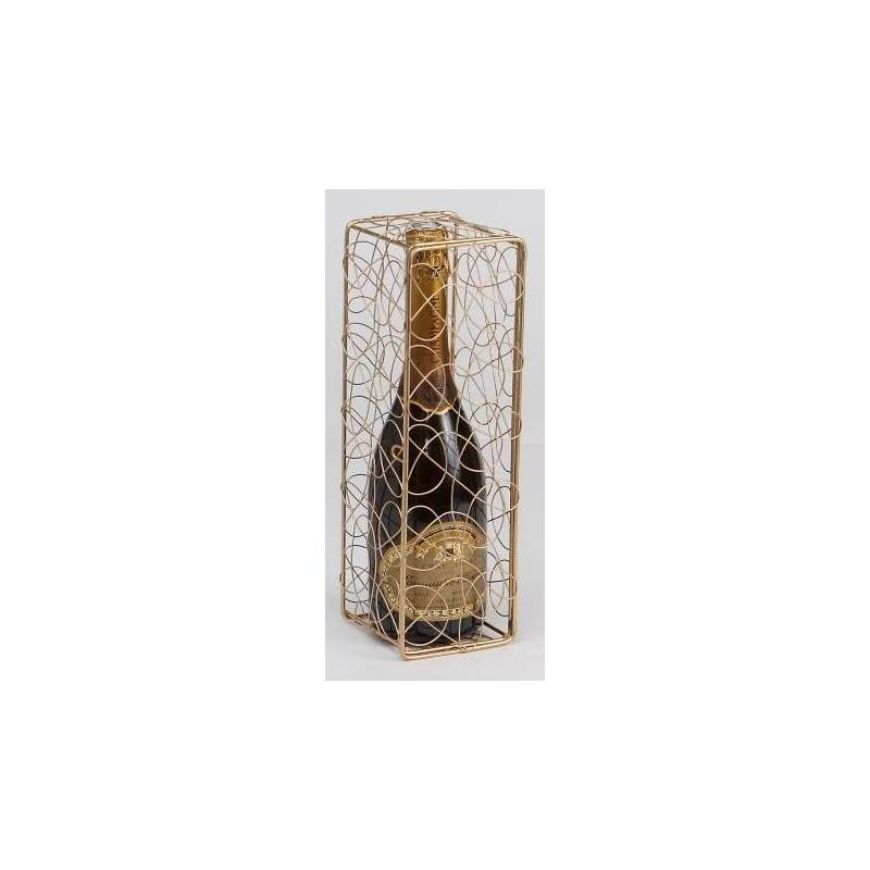KASTEN -Peggy- Metall Doré   für 1 Flasche Champagner
