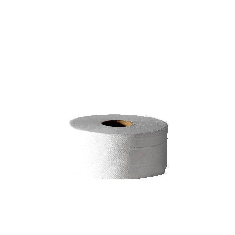 Mini Jumbo 2-ply Hygienic Paper 170 m pre-cut - the reel