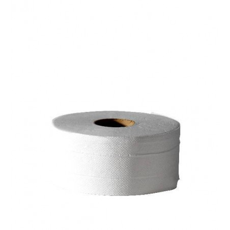 Mini Jumbo 2-ply Hygienic Paper 170 m pre-cut - the reel