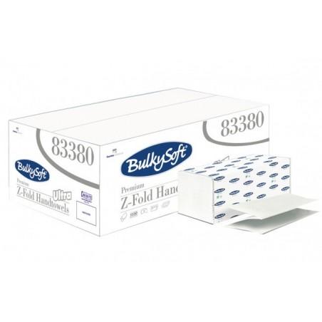 Essuie-Mains Feuille à feuille format Z - le sachet de 150 feuilles