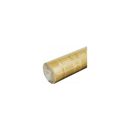 Mantel de Oro en papel damasco ancho 1,20 m - el rollo de 20 m
