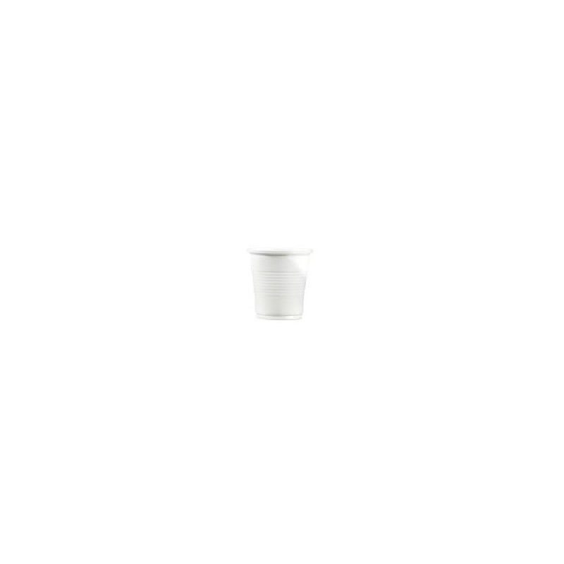 White plastic beverage bottle 10 cl - the 100