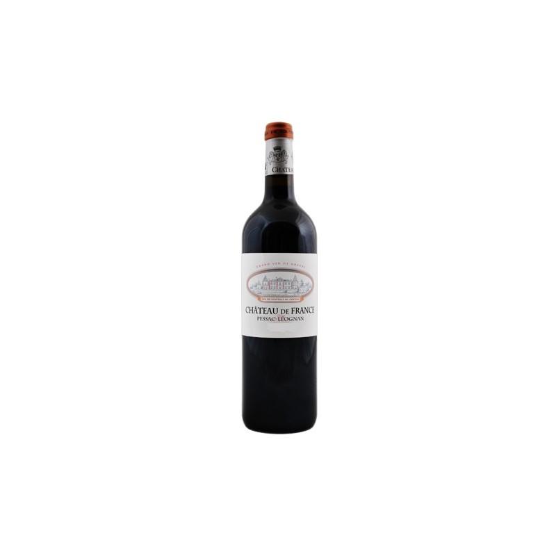 Château de France PESSAC LEOGNAN Vino rosso AOC 75 cl