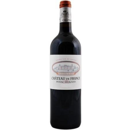 Château de France PESSAC LEOGNAN Vin Rouge AOC 75 cl