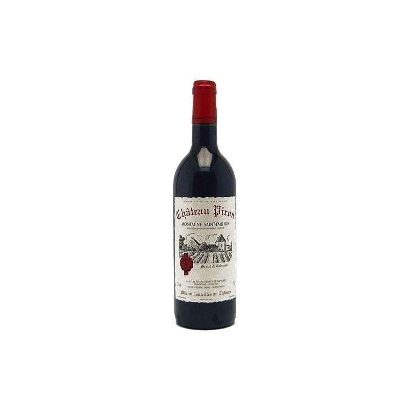 Château Piron MONTAGNE SAINT EMILION Vino tinto AOP 75 cl