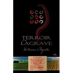Terroir de Lagrave COTES DU TARN Vino Rosato VDP Fontana di vino BIB 10 L