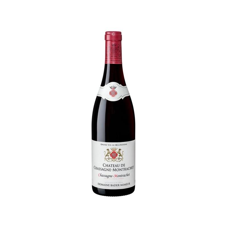 Château de Chassagne Montrachet CHASSAGNE MONTRACHET Red wine AOC Bader-Mimeur 75 cl