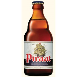 Bière PIRAAT Ambrée Belgique 10.5° 33 cl