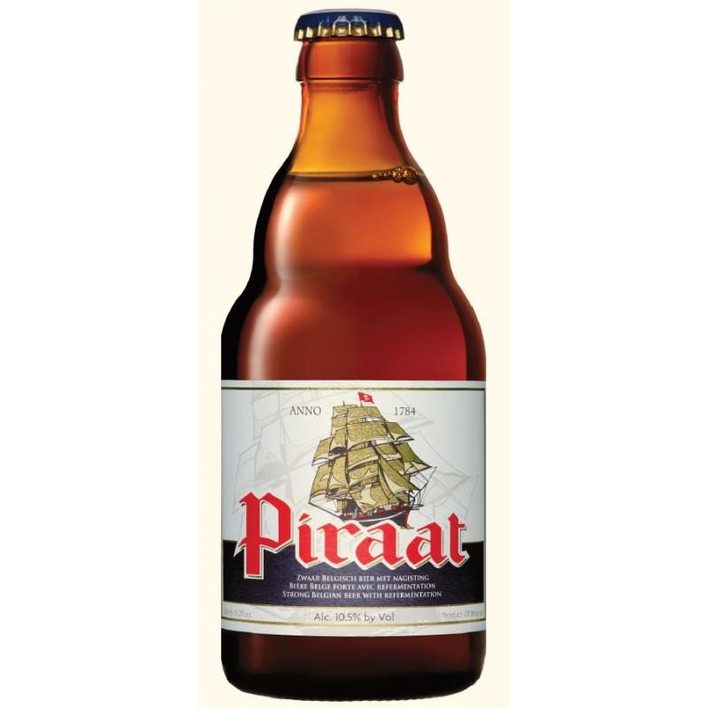Cerveza PIRAAT Ámbar Bélgica 10.5 ° 33 cl
