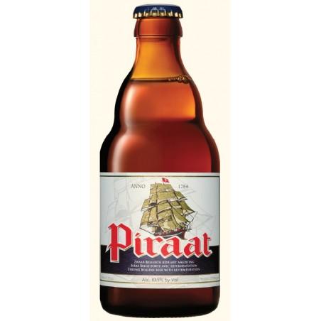 Birra PIRAAT Ambrée Belgio 10,5 ° 33 cl
