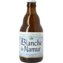 Bière BLANCHE DE NAMUR Blanche Belgique 4.5° 33 cl