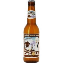 Cerveza LA CAGOLE DE MARSELLA Blanca Francia 4.5 ° 33 cl