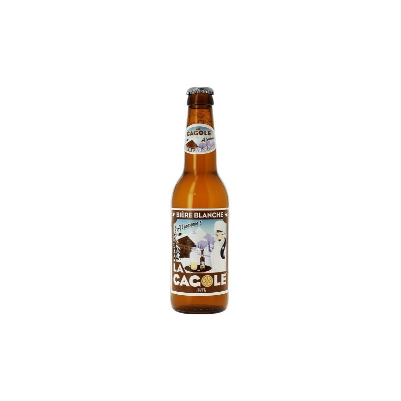 Bier LA CAGOLE DE MARSEILLE Weiß Frankreich 4.5 ° 33 cl