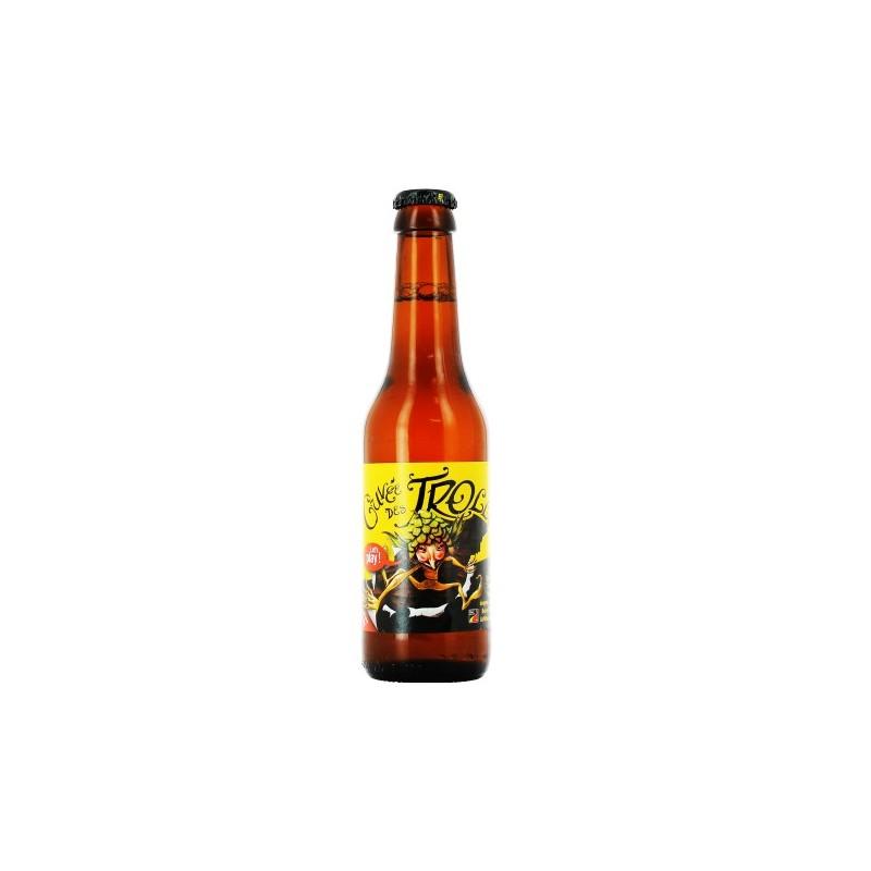 Cerveza CUVEE TROLLS Lager Bélgica 7 ° 25 cl