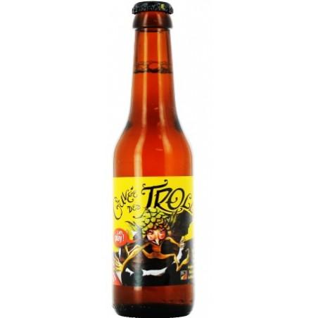 Beer CUVEE TROLLS Blond Belgium 7 ° 25 cl