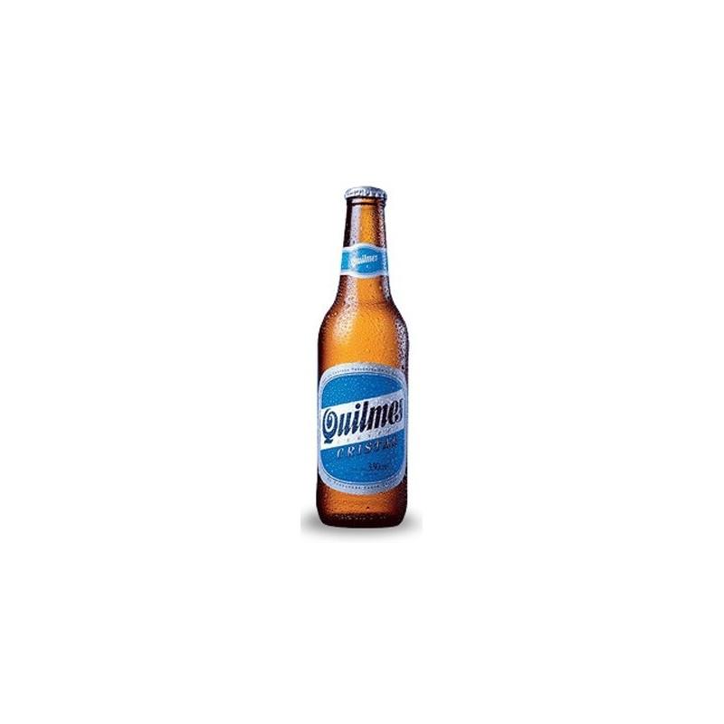 Bier QUILMES CRYSTAL Blond Argentinien 4.9 ° 34 cl