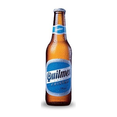 Beer QUILMES CRYSTAL Blond Argentina 4.9 ° 34 cl