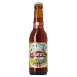 MONT BLANC BEER LA ROUSSE Rousse France 6.5 ° 33 cl