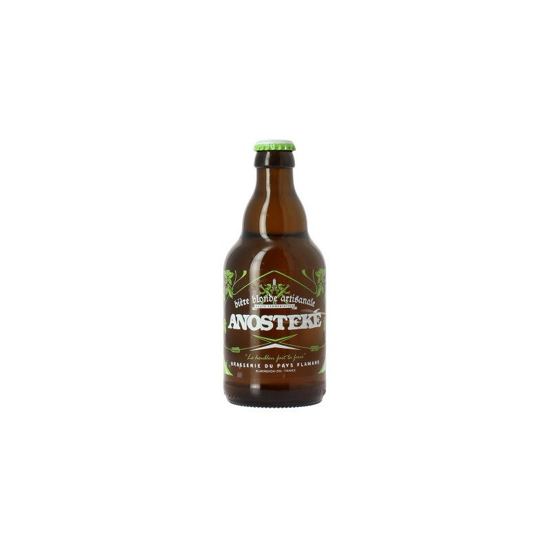 Beer ANOSTEKE Blond France 8 ° 33 cl