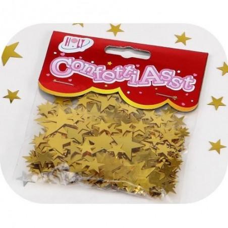 CONFETTIS Golden stars - 10 g bag