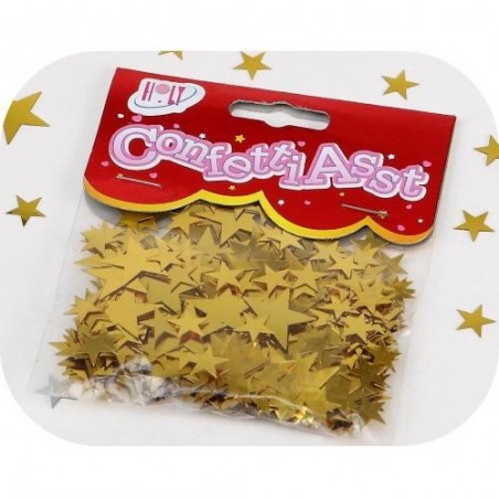 Estrellas de oro CONFETTIS - bolsa de 10 g