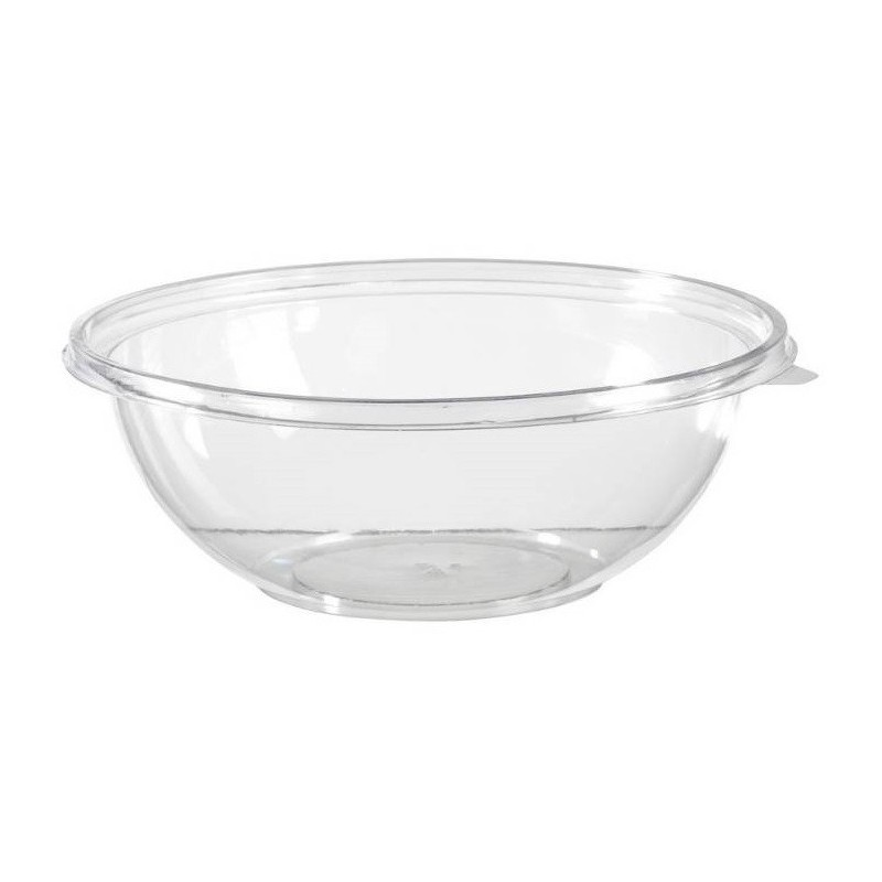 BOWL 9 L transparent crystal plastic APET