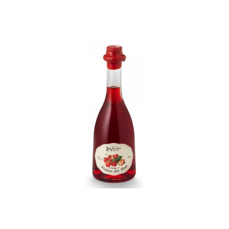 Bigallet Wild Strawberry Cream 16 ° bottle rustica 50 cl