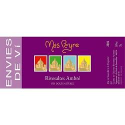 Envies de vi Mas Peyre RIVESALTES Ambré BIO Vin Blanc Doux Naturel AOP 75 cl