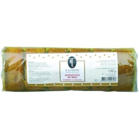 Nonnette ripiene di miele e arancia M. de TURENNE 150 g