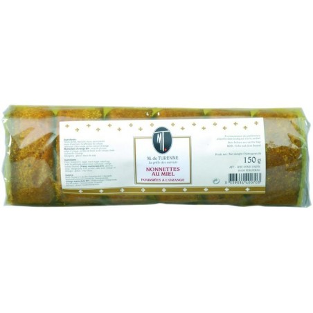 Nonnettes stuffed with Honey and Orange M. de TURENNE 150 g