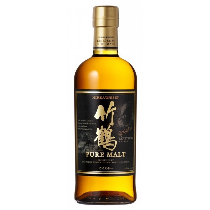 WHISKEY Nikka Taketsuru pure malt 43 ° 70 cl
