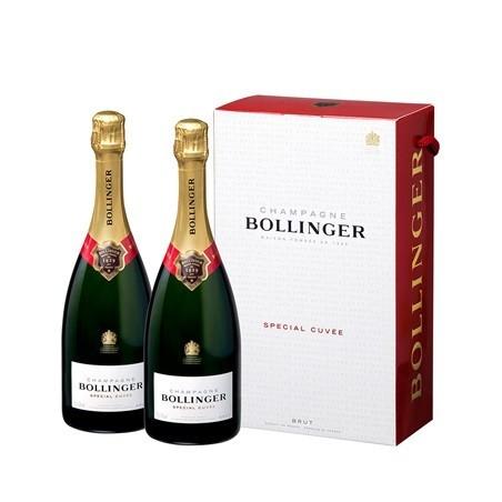 Bollinger Twinpack CHAMPAGNE Especial Cuvée Brut White Wine Caja de 2 botellas 75 cl