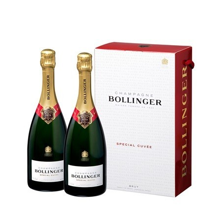 Bollinger Twinpack CHAMPAGNE Special Cuvée Brut White Wine Box of 2 bottles 75 cl