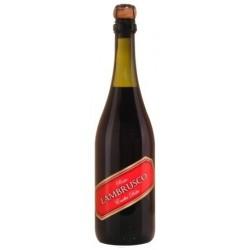 Dell'Emilia LAMBRUSCO Süßer italienischer Rotwein IGT 75 cl