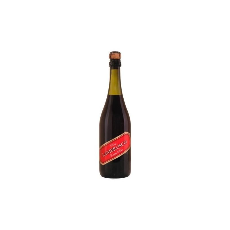 Dell'Emilia LAMBRUSCO Vino tinto italiano dulce IGT 75 cl