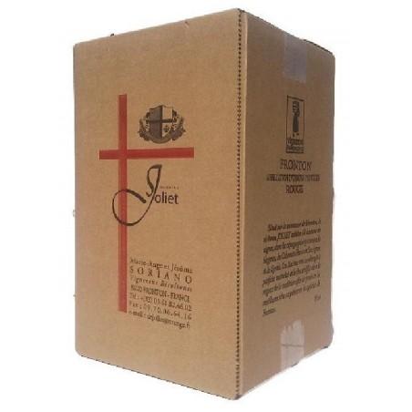 Château Joliet FRONTON Vino tinto DOP fuente de vino BIB 10 L