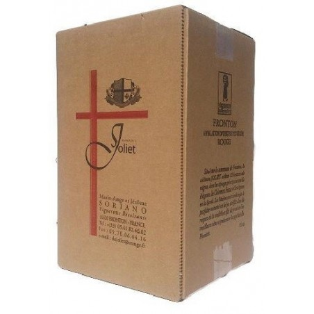 Château Joliet FRONTON Red wine PDO Wine fountain BIB 5 L